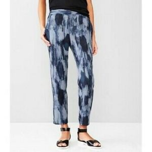 GAP Printed Tencel Track Pants Joggers